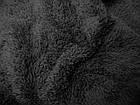 Ткань МАХРА ДВУСТОРОННЯЯ (ЧЕРНЫЙ), фото 3