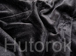 Трикотаж на меху (черный)