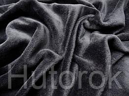 Трикотаж на меху (серый темный)