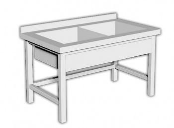 Ванна штампованная ВШ-2 250/600 премиум