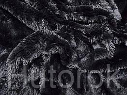 Мех травка (черный)