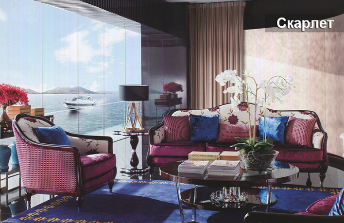 Комплект мебели «Скарлет»