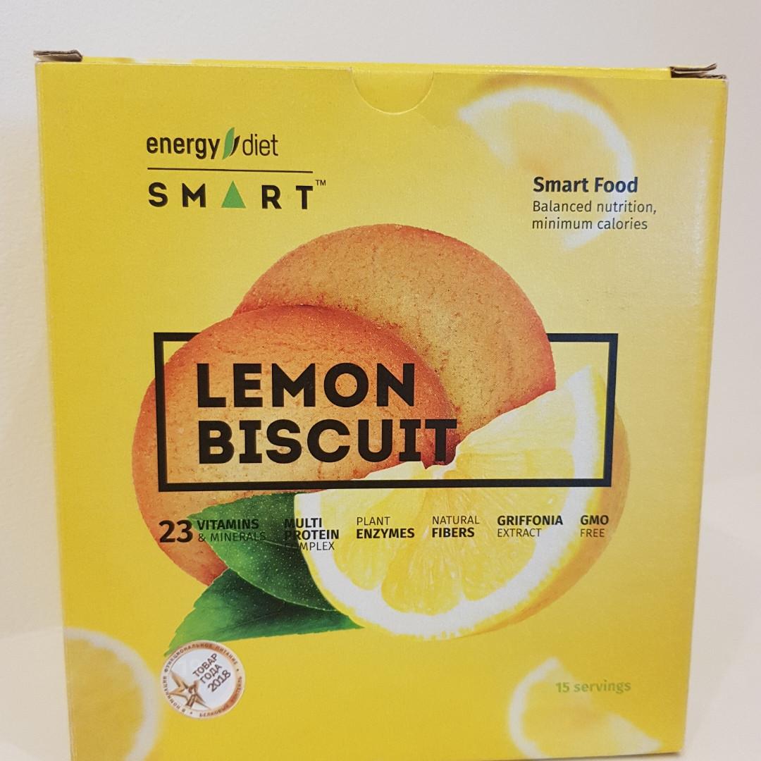 """Сбалансированное питание """" Лимонное печенье"""" Energy Diet Smart"""