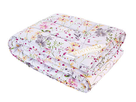 Одеяло DOTINEM VALENCIA ЛЕТО холлофайбер полутороспальное 145х210 см (214873-1), фото 2
