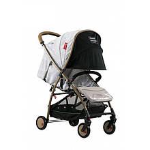 Прогулянкова коляска Baciuzzi BX FRA Grey-Gold (3072018115)