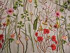 Сетка с вышивкой (цветы), фото 2