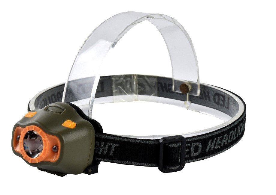Налобний ліхтар з датчиком руху 6603 XPE