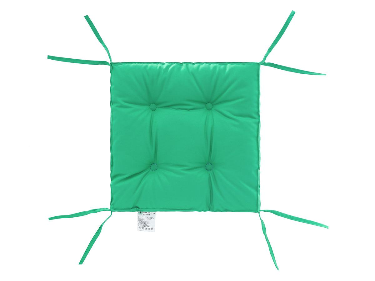 Подушка на стул DOTINEM COLOR мята 40х40 см (213109-6)