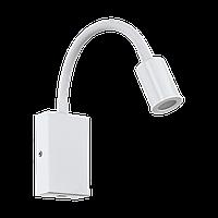 """Бра Eglo 96566 3,5W LED білий з USB входом """"Тазолі"""""""
