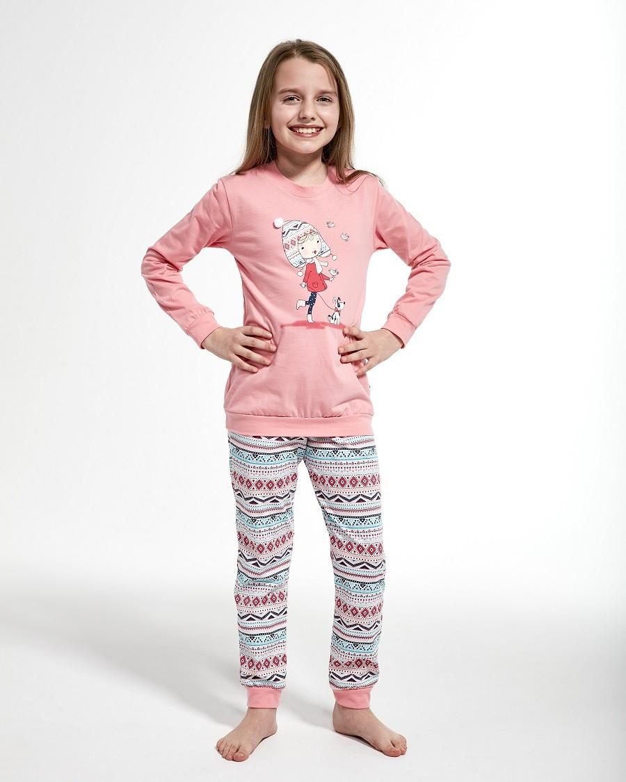 Пижама для девочки 86-128. Польша.Cornette 594/107 WALK
