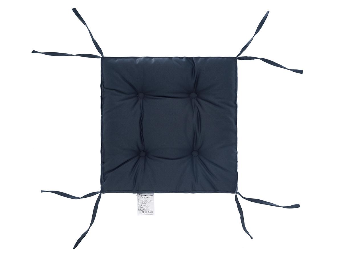 Подушка на стілець DOTINEM COLOR мокрий асфальт 40х40 см (213109-9)