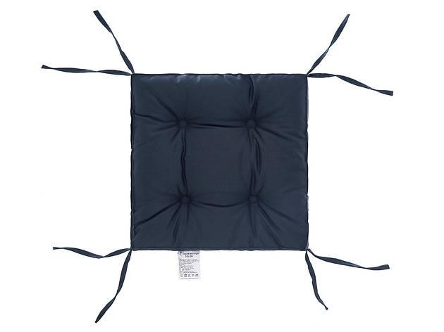 Подушка на стілець DOTINEM COLOR мокрий асфальт 40х40 см (213109-9), фото 2