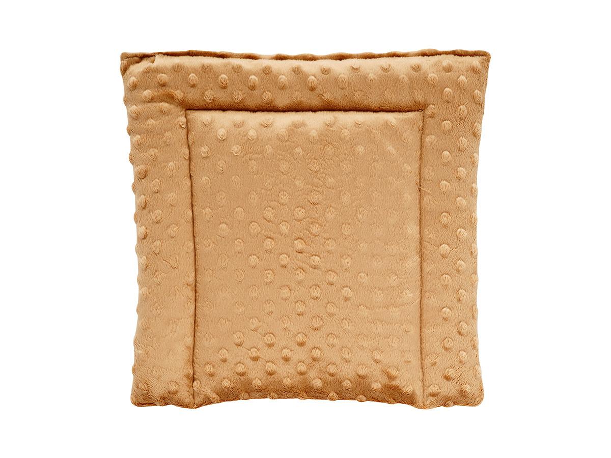 Подушка DOTINEM Minky плюшевая детская капучино 35х35 см (213471-2)