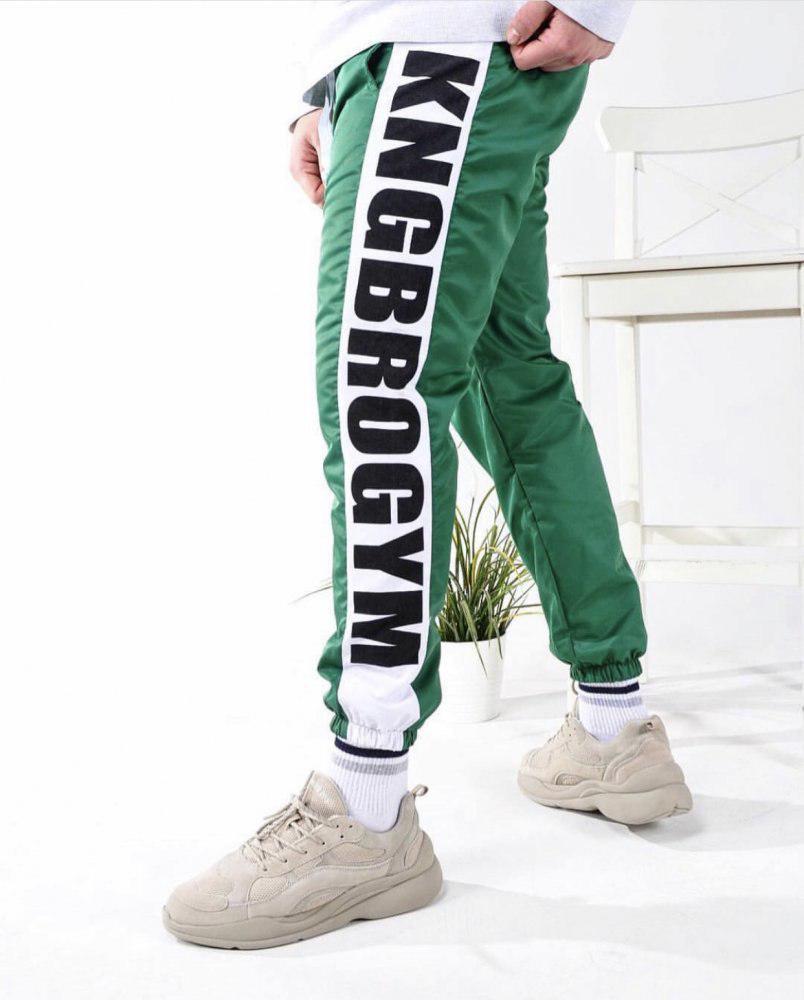 Мужские спортивные штаны KING BROTHERS green