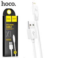 Кабель HOCO Lightning для iPhone X1, 1м