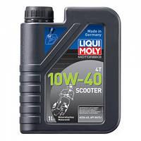 Мінеральне масло для скутерів Liqui Moly Motorbike Scooter 4T 10W-40 1л 1618