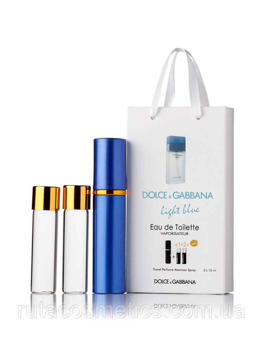 """Подарочный набор духи с феромонами """"Dolce&Gabbana Light Blue"""""""