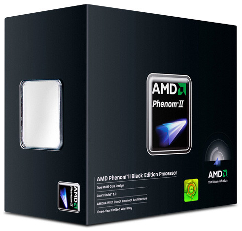 "Процессор AMD Phenom II X4 Black 970 3,5 ГГц (HDZ970FBGMBOX) Socket AM3 ""Over-Stock"" Б/У"