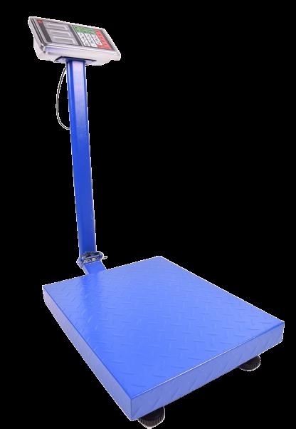 Весы электронные торговые со счетчиком цены усиленная платформа (600 кг)