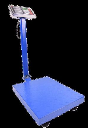 Весы электронные торговые со счетчиком цены усиленная платформа (600 кг), фото 2