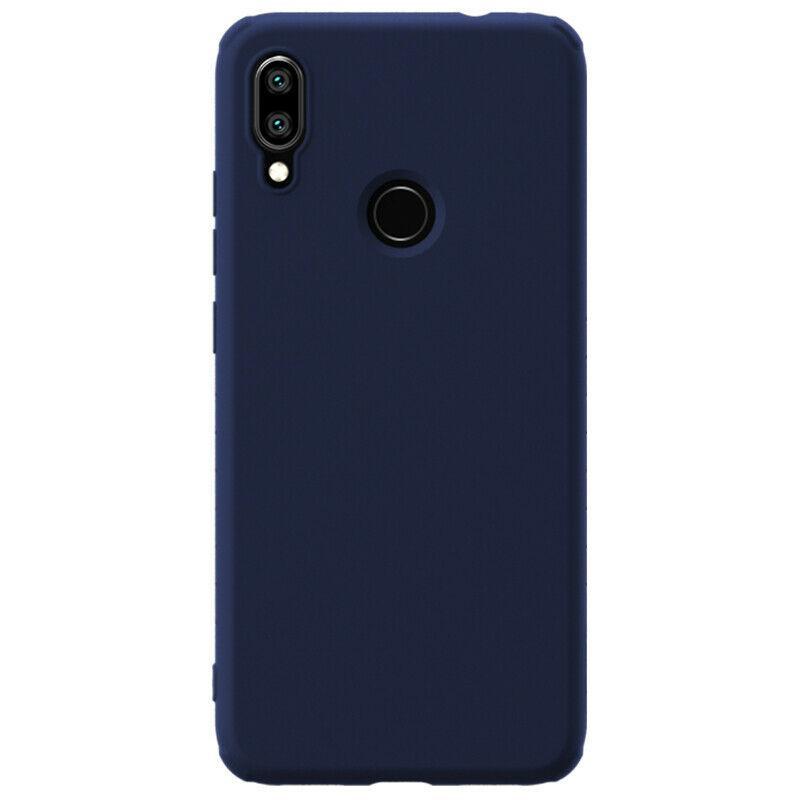 Nillkin Xiaomi Redmi Note 7/ Note 7 Pro Rubber-wrapped Protective Case Blue Резиновый Чехол