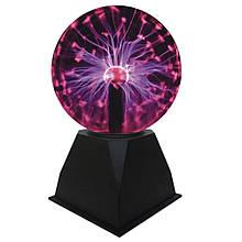🔝 Плазменный шар, plasma light, цвет - черный, шар тесла   🎁%🚚