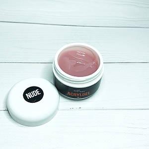 Акрил-гель NailApex Nude, натуральний 30 г