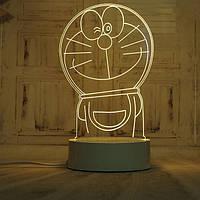 🔝 Светодиодный светильник, детский ночник, кот Дораэмон, (доставка по Украине)   🎁%🚚