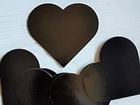 Підложка ламінована чорний-чорний 1.2 мм сердечко