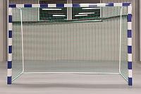 Сітка гандбол/мініфутбол ПА100х3.5 ШЕСТИГРАННА (комплект 2шт)  сетка безузловая гандбольная минифутбол, фото 1