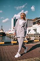 """Женский спортивный костюм модного кроя с капюшоном """"Агнес"""" два цвета"""