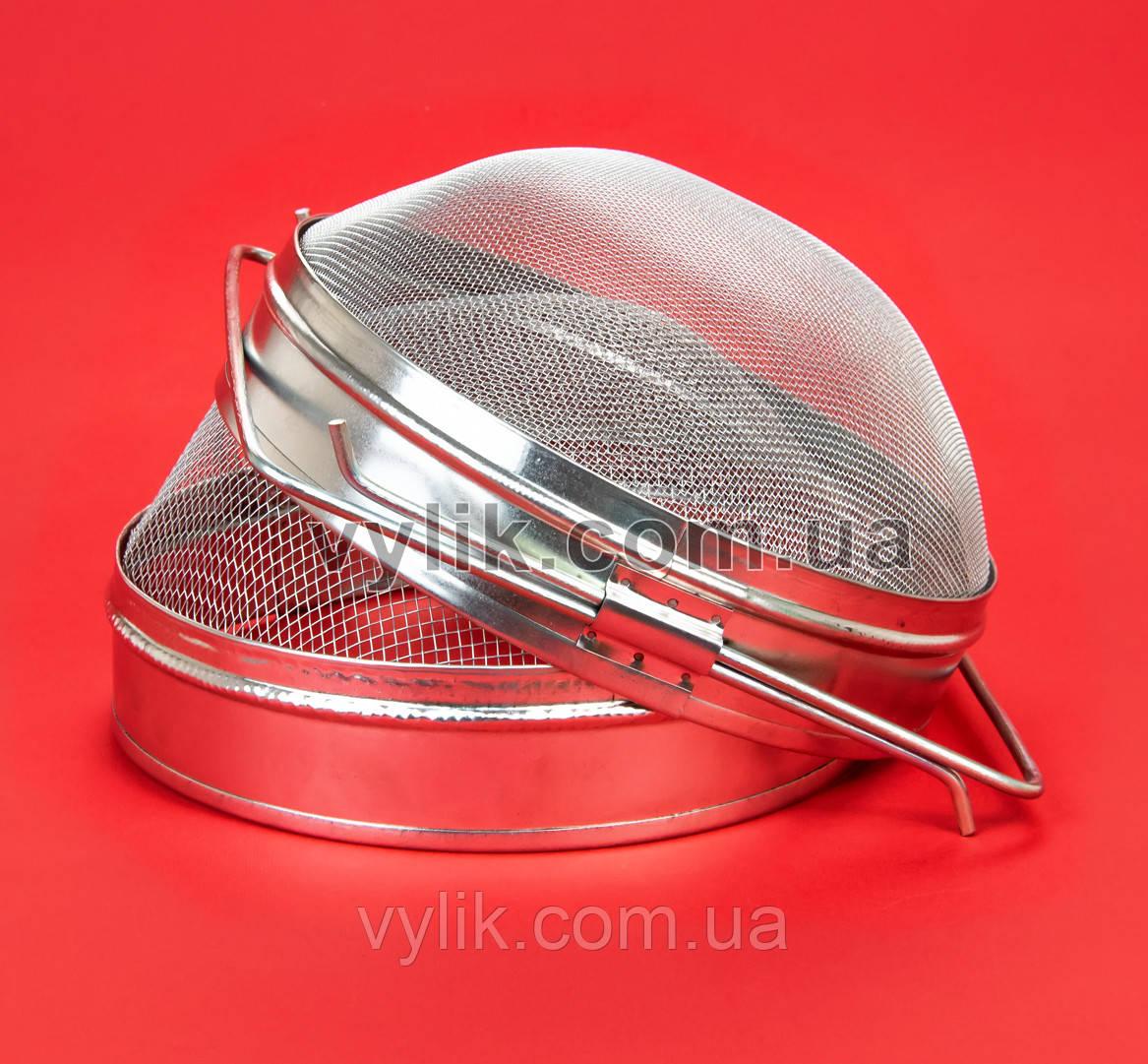 Фильтр двойной с круглой сеткой оцинкованный 20 см