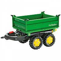 Прицеп Rolly Toys rollyTrailer Mega Trailer самосвальный прицеп для трактора (122004)