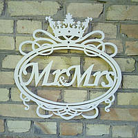Свадебный герб Mr&Mrs