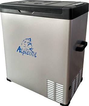 Автохолодильник компрессорный Alpicool С75 (75 литров). Режим работы + 20 ℃ до -20 ℃. 12/24 / 220V
