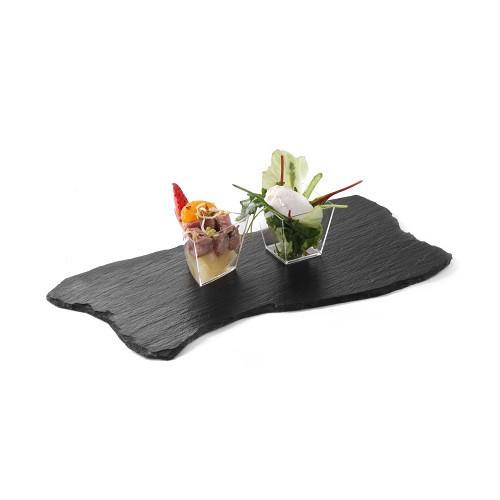 Блюдо сланцевое - волнистое 300x150x(H)5 мм, 2 шт. 424728 Hendi (Нидерланды)