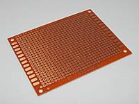 Макетная плата гетинакс 94HB 70*90 mm