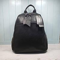 Женский кожаный рюкзак Farfalla Rossoбольшого размера