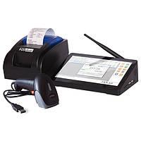 Компактный комплект POS-оборудования для автоматизации торговли (минимаркетов, киосков, бутиков)