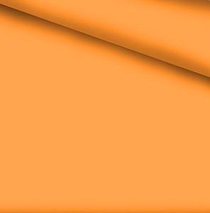 Хлопковая ткань однотонная оранжевая