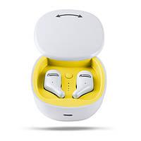 Навушники безпровідні Bluetooth 5.0 Alitek A2 TWS White Stereo