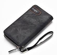 🔝 Кошелек мужской Baellerry портмоне балери S1514 Черный portmone / красивый бумажник (гаманець)   🎁%🚚
