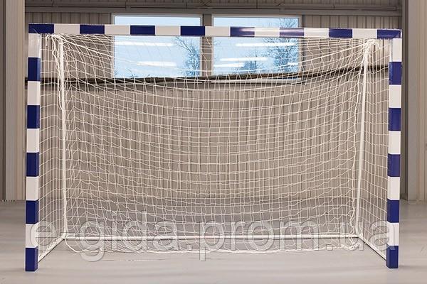 Сітка-гаситель гандбол/мініфутбол ПА100х3.5 (комплект 2шт)  сетка безузловая гандбольная минифутбол