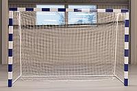 Сітка-гаситель гандбол/мініфутбол ПА100х3.5 (комплект 2шт)  сетка безузловая гандбольная минифутбол, фото 1