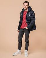 Подросток 13-17 лет | Куртка зимняя Braggart Teenager 76025 сине-черная р. 40 42 44 46, фото 2