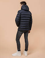 Подросток 13-17 лет | Куртка зимняя Braggart Teenager 76025 сине-черная р. 40 42 44 46, фото 4
