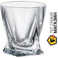 Прозрачный набор рюмок для водки без рисунка - Bohemia Quadro 55мл, 6шт. (2k936/99A44/055) ( ) - материал стекло