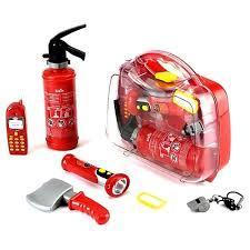 Игровой набор пожарного в кейсе Klein 8984