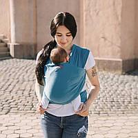 Трикотажний слинг-шарф Love & Carry - Скай