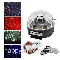 Магический Светодиодный Шар (LED Magic Ball Light AB-0005) – отличная идея для дискотек и домашних вечеринок!